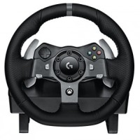 Logitech G920 Driving Force Racing Wheel Xbox One Review | $350