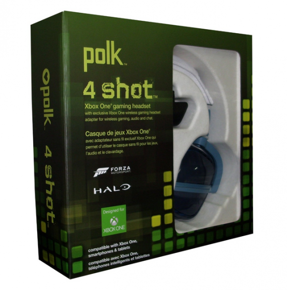 Polk Audio 4Shot Gaming Headset For Xbox One