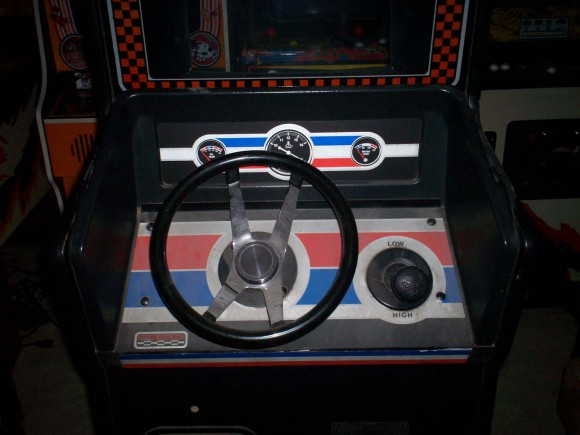 Pole Position Steering Wheel
