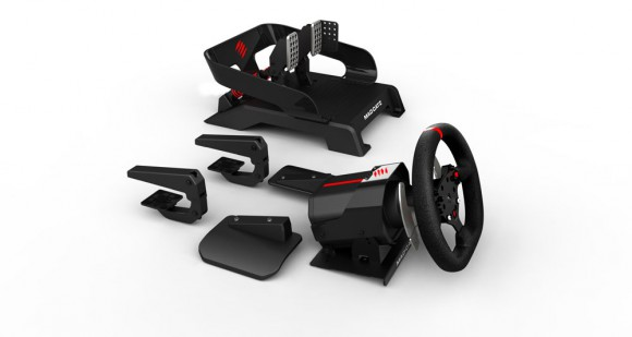 mad catz pro racing force feedback wheel pedals xbox one xbox one