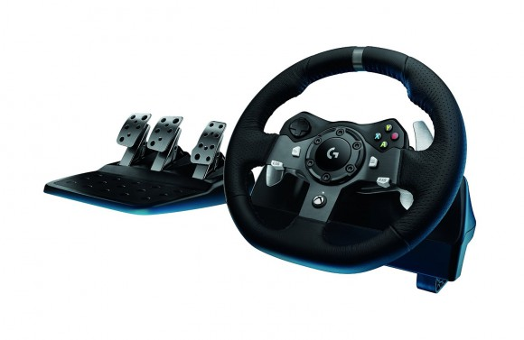 Logitech Wheel And Pedal Set