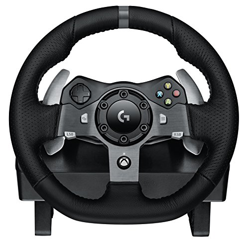 Logitech G920 Driving Force Wheel Review Xbox One Racing