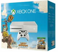 White Xbox One Sunset Overdrive