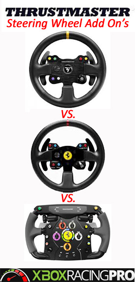 thrustmaster steering wheel add ons xbox one racing. Black Bedroom Furniture Sets. Home Design Ideas