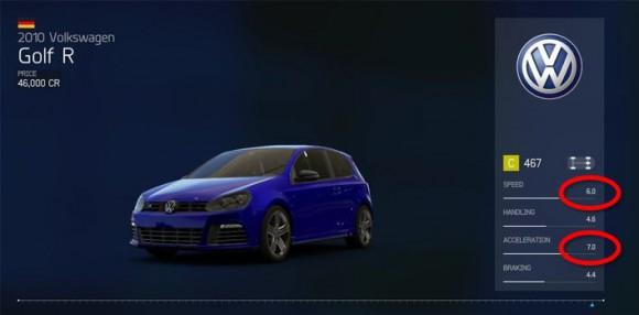 Forza 6 Golf R