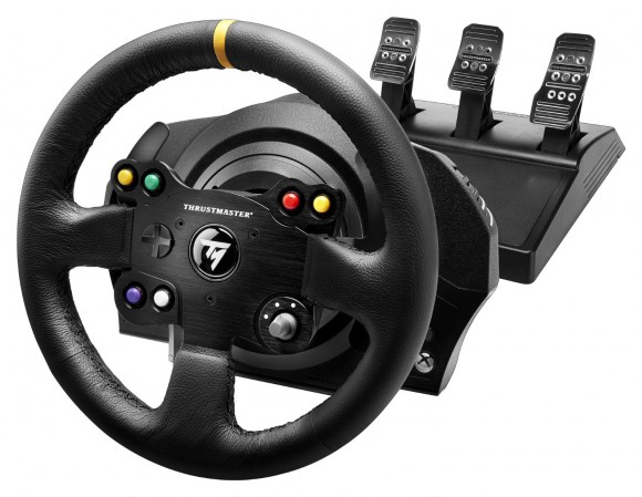 thrustmaster tx leather edition review xbox one racing wheel pro. Black Bedroom Furniture Sets. Home Design Ideas