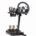 The Ultimate Steering Wheel Racing Game Stand