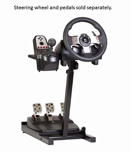 Steering wheel stands for thrustmaster logitech fanatec amp madcatz