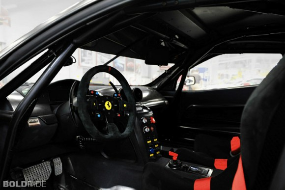 Ferrari 599XX EVO Cockpit