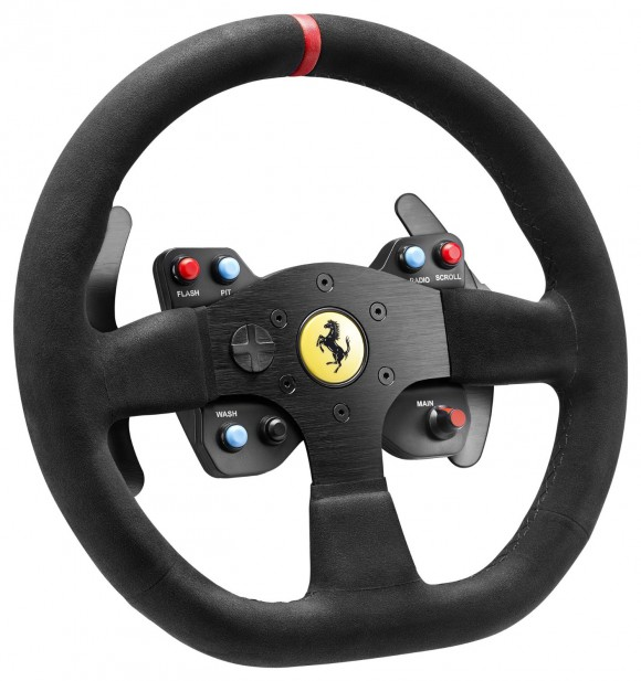 Thrustmaster VG Ferrari 599XX EVO Steering Wheel Add-On, Alcantara Edition