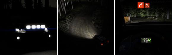 WRC 5 night racing