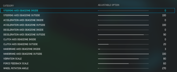 Advanced Wheel Settings Forza 6 Drifting