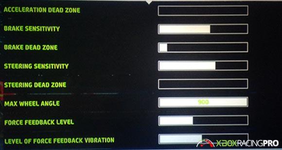 WRC 5 Racing Steering Settings | Xbox One Racing Wheel Pro