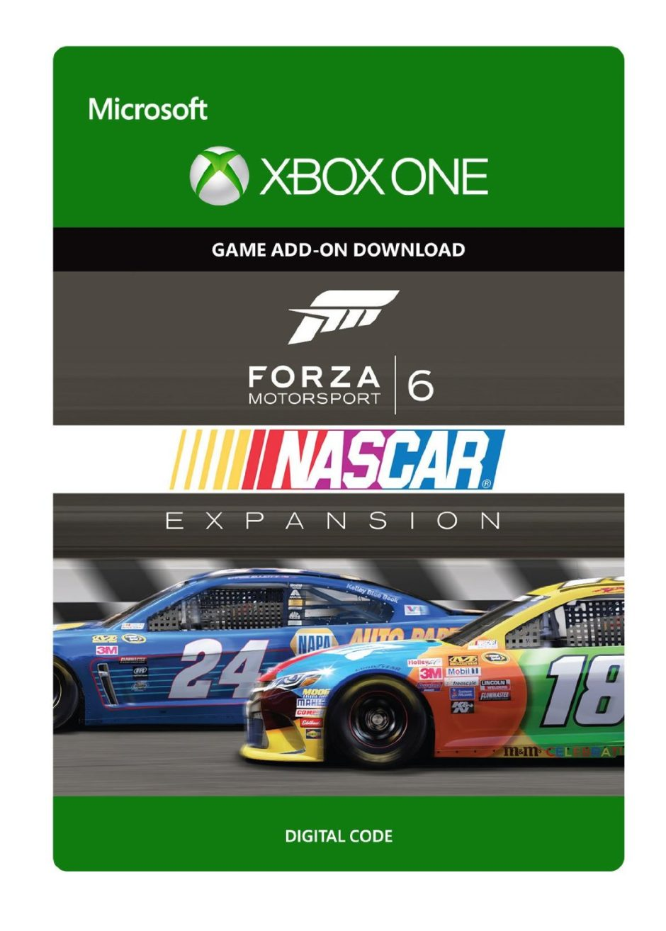 Nascar Games For Xbox 1 : Forza motorsport nascar expansion xbox one racing