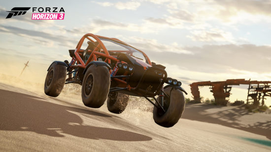 Horizon 3 dune buggy