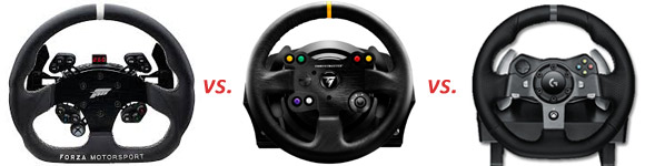 Fanatec vs Thrustmaster vs Logitech