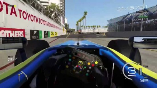 F12016 Game Cockpit View