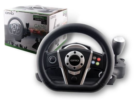 MegaDream Steering Wheel Review for X Box 1
