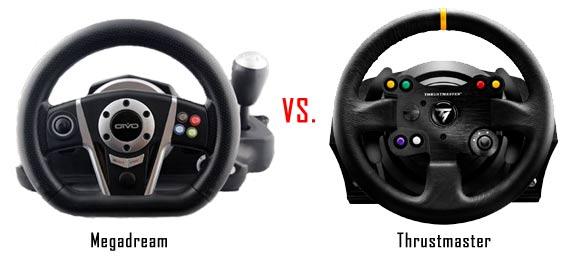 Megadream vs Thrustmaster