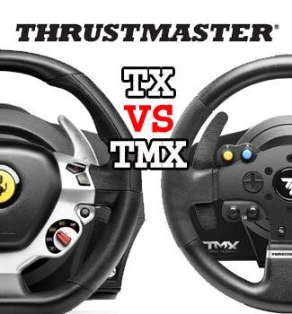 Thrustmaster TX vs TMX   Xbox One Racing Wheel Pro