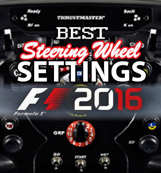 7 Tips for F1 2016 Wheel Settings | Xbox One Racing Wheel Pro