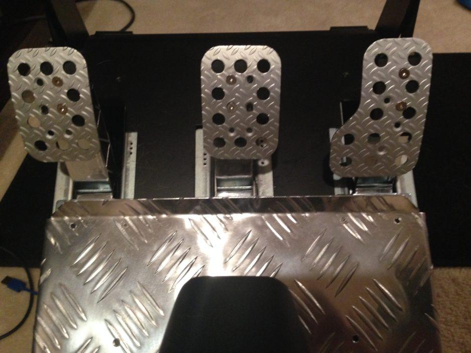 Diy Custom T3pa Pedal Plates Xbox One Racing Wheel Pro