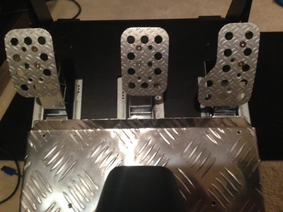 Custom T3PA Pedals Mod