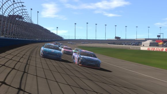 NAscar HEat Evolution Online Mode