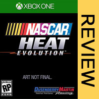NASCAR Heat Evolution Xbox One Review | Game Finishes Dead Last