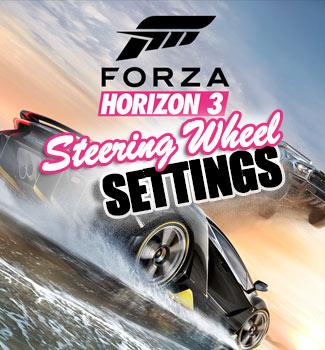 Horizon 3 Steering Wheel Settings | Xbox One Racing Wheel Pro