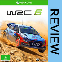 WRC 6 Rally Racing Game Xbox One Review