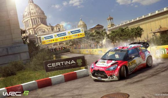 WRC6 Rally Racing Game